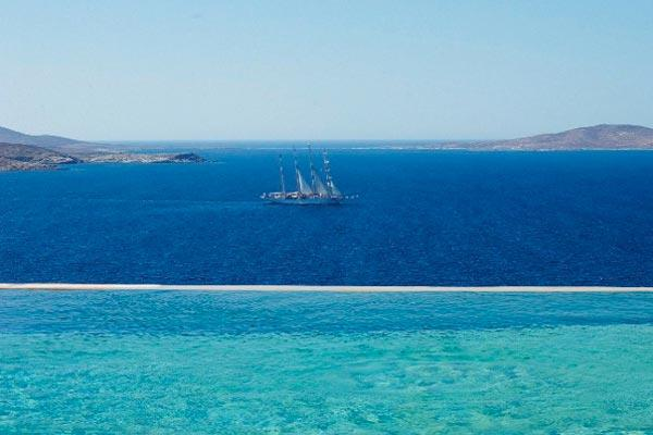 One of the most scenic views on the island- come here to get away. LIV NES - Image 1 - Mykonos - rentals