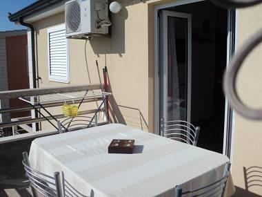 A2(2+2): terrace - 35208 A2(2+2) - Cove Kanica (Rogoznica) - Cove Kanica (Rogoznica) - rentals
