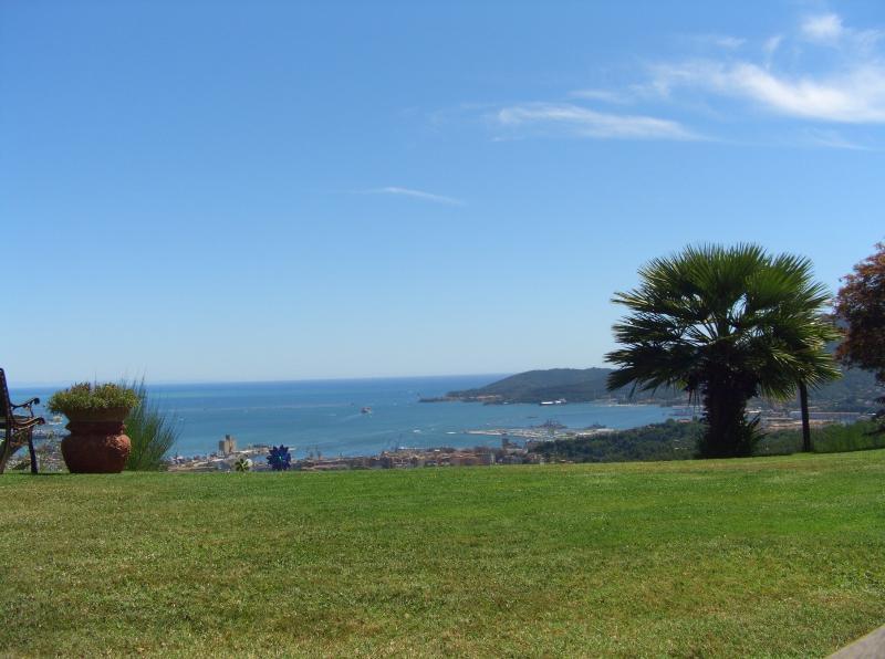 Sea view from Villa - Villa Sarbia - La Spezia - rentals
