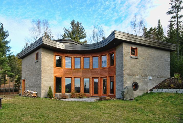 contemporary architecture Home with amazing view - Image 1 - Sainte-Beatrix - rentals