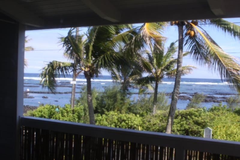 Part of the ocean view - Budget Rental with Four Star Ocean View - Pahoa - rentals