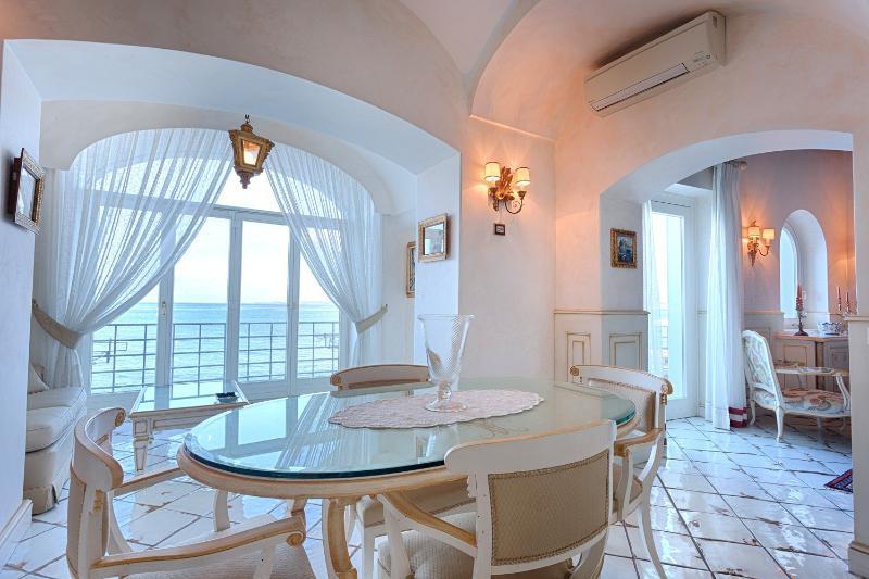 Living room with sea view - Aragona Suite - Ischia - rentals