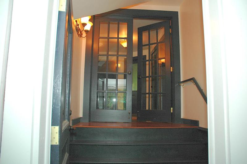 Front Foyer with Secure Storage - Adirondack Executive Suite - Saranac Lake - rentals
