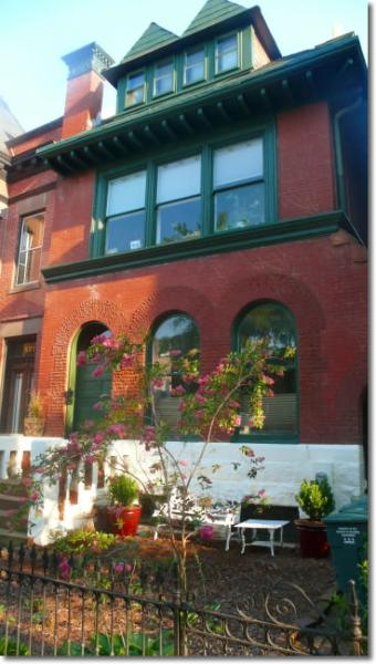 Grand semi-detached townhouse.  Apt is entire top floor - 6th & A #4 spacious apt in grand building - Washington DC - rentals