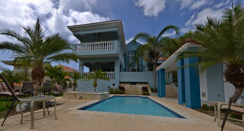 Rear of house - Castle Ridge Palmas Del Mar - Humacao - rentals