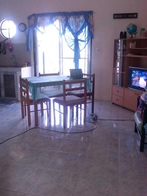 Living Room & Sliding Doors to Terrace - Aldanmar Apartments Blue - on the beach - Puerto Galera - rentals