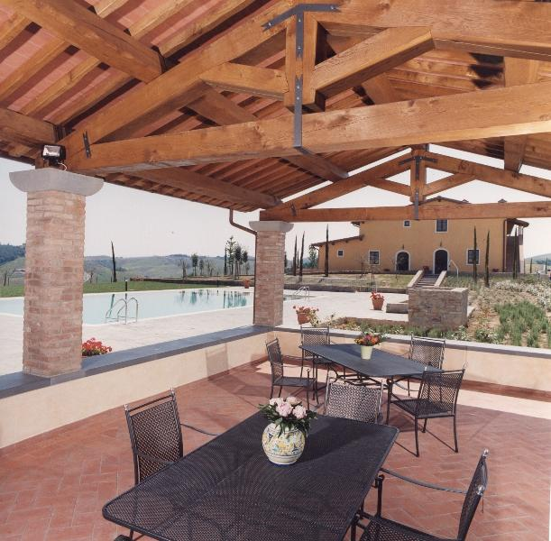 Private villa with pool and extensive garden - Image 1 - Montaione - rentals