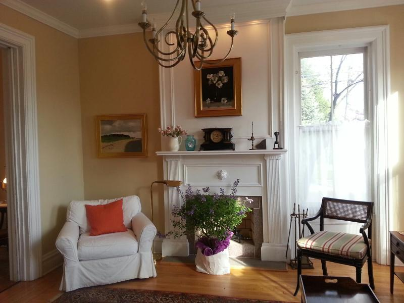 Living Room, light filled. - The Artist's House - Special Winter Rates! - Hudson - rentals