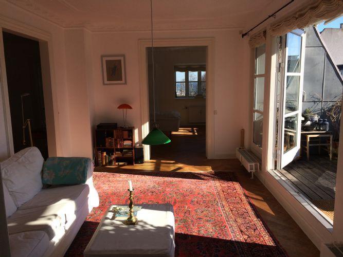 Strandparksvej Apartment - Bright villa Copenhagen apartment near the beach - Copenhagen - rentals