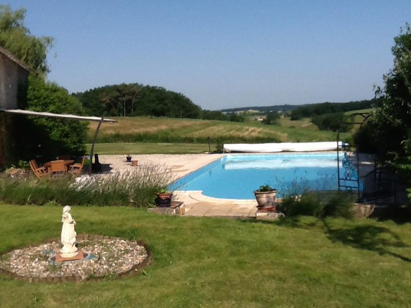 Pool and terrace - Peaceful house with pool, near Bergerac and Eymet - Razac-d'Eymet - rentals