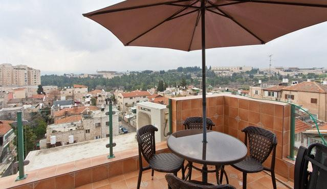View from the mirpeset - Spectacular Views! Lots of Light! Guest House! - Jerusalem - rentals