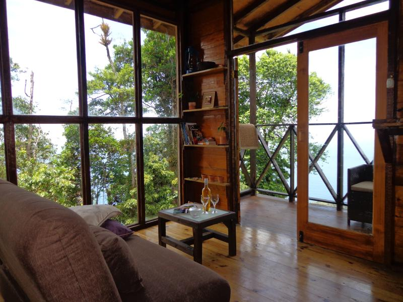 Living and lounging area of cabin. - La Vapeur Estate - Diego Martin - rentals