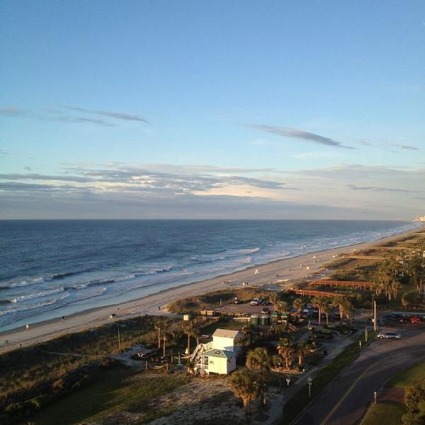 Your view from the balcony - Gorgeous Oceanview 1 Bedroom Condo at Forest Dunes on the 11th Floor - Myrtle Beach - rentals