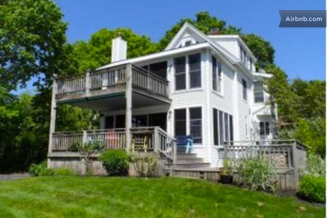 Backyard View - Waterfront Beach House - Waterford - rentals
