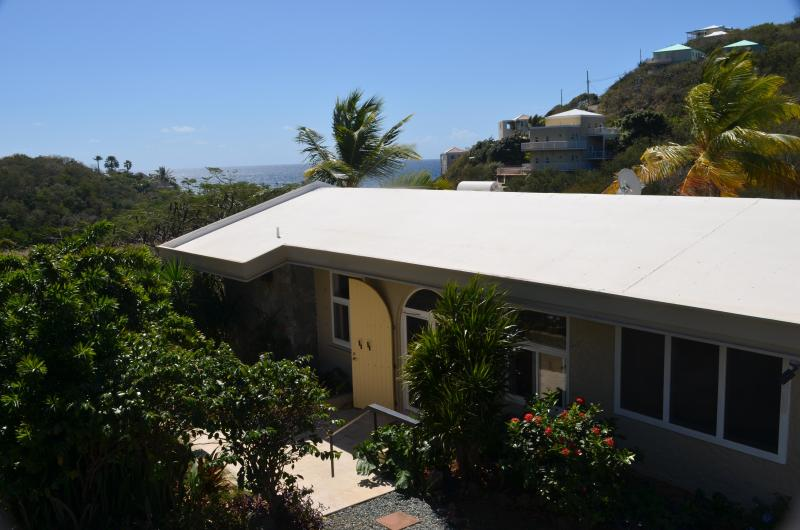 Welcome to Total Relaxation & Privacy - Pura Vida: Privacy - 1.5 Acres In Choc. Hole - Cruz Bay - rentals