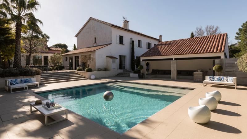 General view of the property - Enchanting villa, St-Tropez, 20 people - Saint-Tropez - rentals