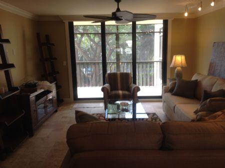 Living Area - WHAT A BEAUTY....perfect unit in perfect Island Location !  Great property - Marco Island - rentals
