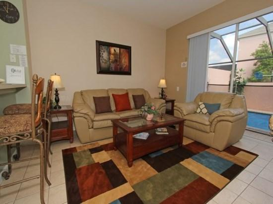 3 Bedroom 3 Bathroom Elegant Town House in Windsor Palms Resort. 2326SPD - Image 1 - Orlando - rentals