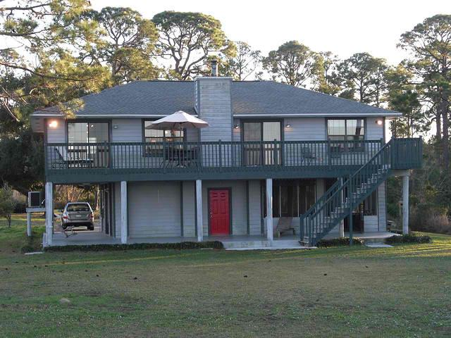 Good Haven House from the water - Beach House on Perdido Bay with Private Pier - Perdido Key - rentals