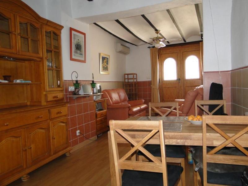 Lounge/Diner - Casita Verde Miramar Valencia Spain - Platja de Piles - rentals