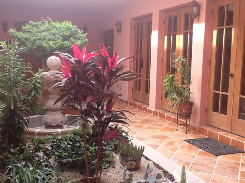 Large open couryard w/Fountain - Art & Magic in Loreto Bay, Mexico - Loreto - rentals