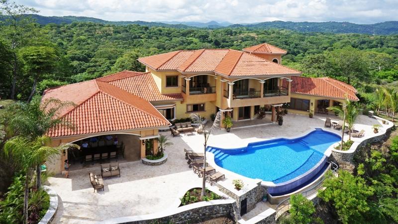 areal view - Villa ROCMAR Playa Hermosa - Playa Hermosa - rentals