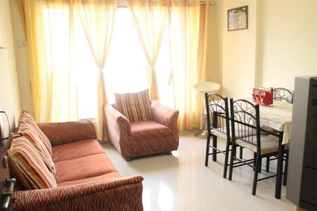Living Room Layout - 1 Bedroom Exclusive Apartment in Mumbai - Mumbai (Bombay) - rentals
