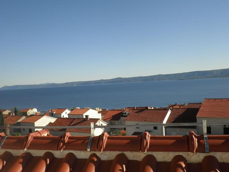 seaview from roof terrace - Bol Attractive Holiday apartment Jase 6 - Bol - rentals