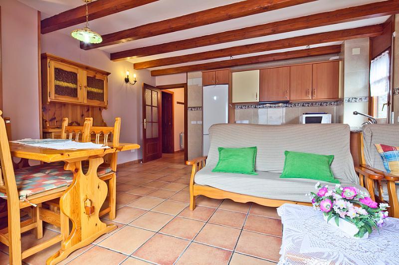 Livingroom - Salardu apartment 3 bedrooms 5 people - Salardu - rentals
