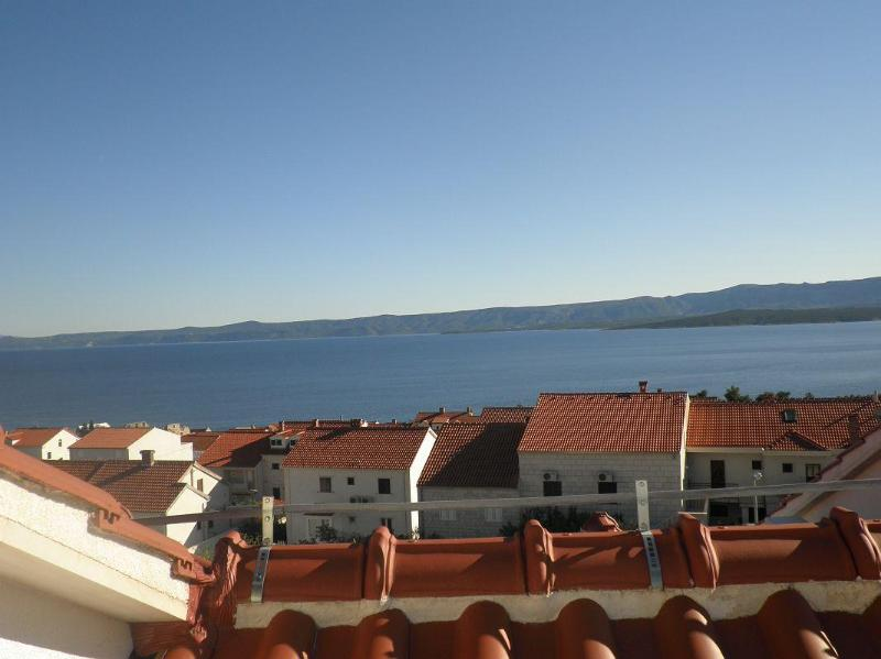 the view from roof terrace - Bol self catering studio Jase 3 - Bol - rentals