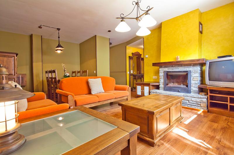 Livingroom - Aubert 3 bedrooms beautiful terrace 4 km Viella - Aubert - rentals