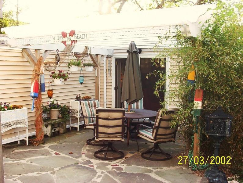 Private Patio - N. Wildwood Beach House Cottage, Great Location!! - North Wildwood - rentals