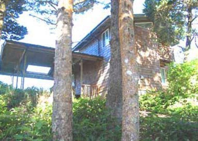Beachfront Chalet Style Home with Panoramic Views - Image 1 - Lincoln City - rentals