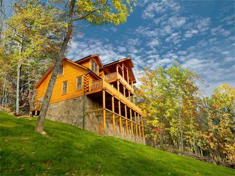 Cliffhanger's View - Image 1 - Pigeon Forge - rentals