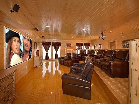 Home Theater Lodge - Image 1 - Pigeon Forge - rentals