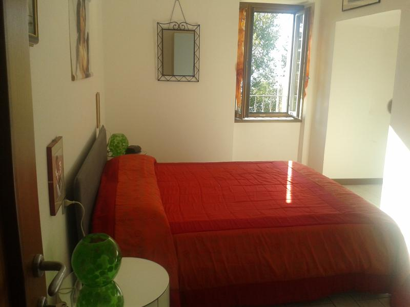 The bedroom - Casa Luna, modern house in the Varenna city center - Varenna - rentals