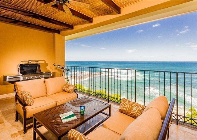 Balcony with Amazing View - Amazing Penthouse Condo on the Beach - Tamarindo - rentals