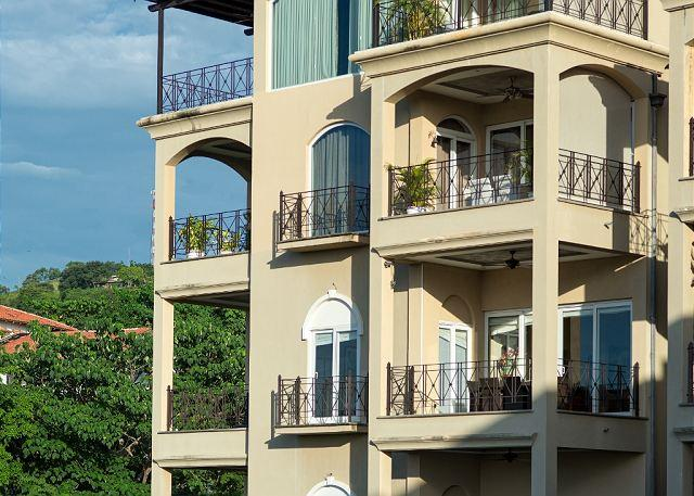 Beautiful Balcony - Incredible oceanfront 2 BDR property overlooking Tamarindo Bay MAT502 - Tamarindo - rentals