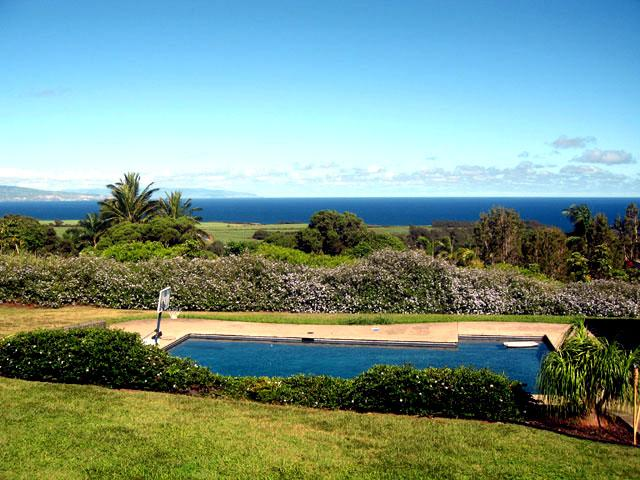 Pool with and ocean views - Hale Aka'ula - The house of red sunsets Licence ST - Haiku - rentals