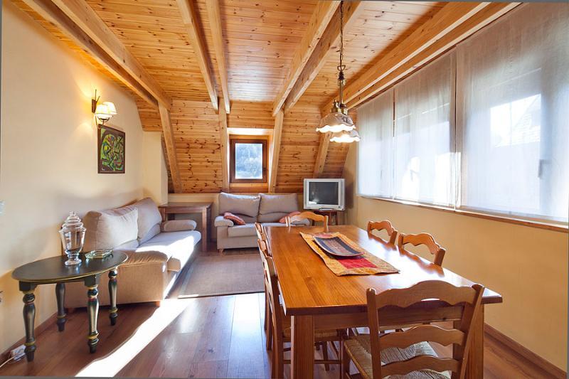 Livingroom1 - Salardu 4km. Baqueira duplex 3 bedrooms - Salardu - rentals