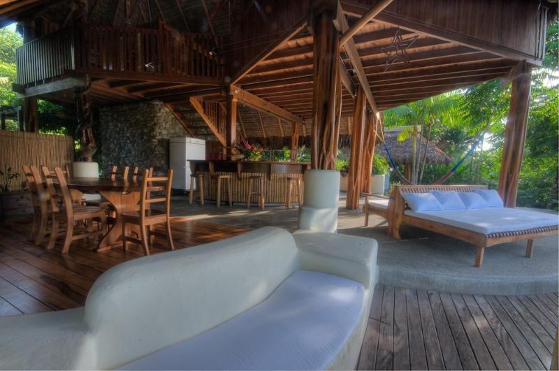 Open floor plan - Custom Design Beachfront Home with Dipping Pool - Puerto Jimenez - rentals