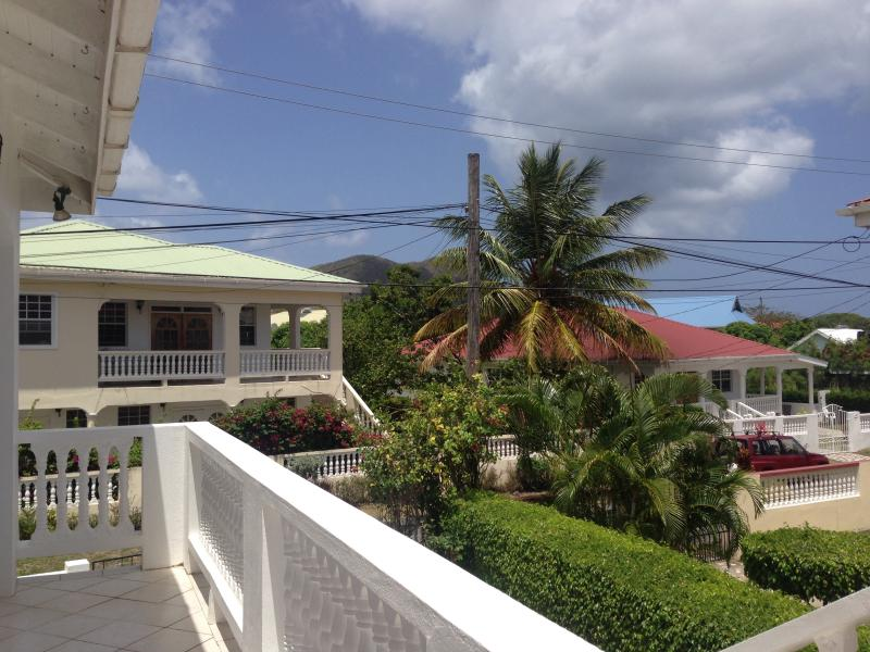 Front balcony - Second Level - 3 BR, 2 Bath, Large Master Suite - Gros Islet - rentals