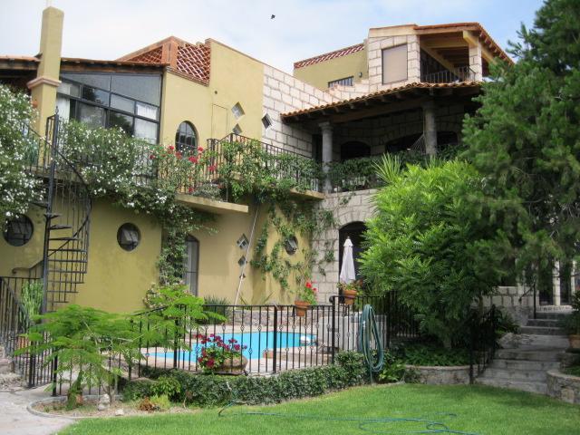 View from the lawn - Casa de los Encantos - San Miguel de Allende - rentals