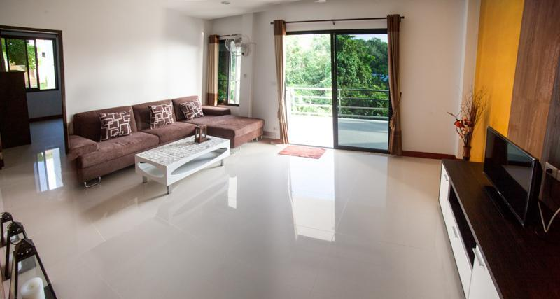living room area - 3-Bedroom Apartment 144sm 3rd Floor - Ko Lanta - rentals