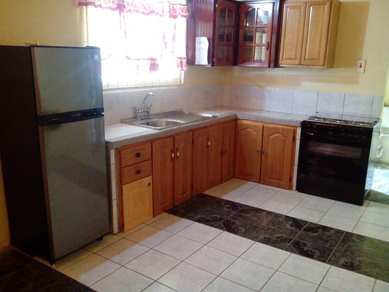 kitchen - Khanla company 3bedroom shared house furnished - Chaguanas - rentals