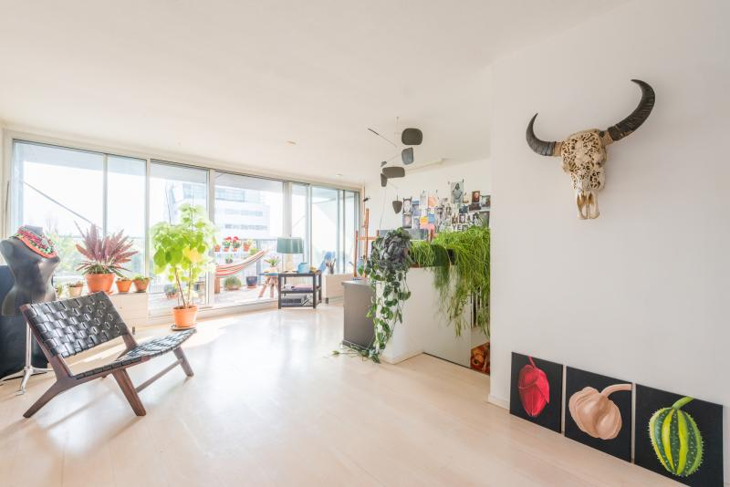 112 m2 Lake view Apartment near Center with 2 bikes - Image 1 - Amsterdam - rentals
