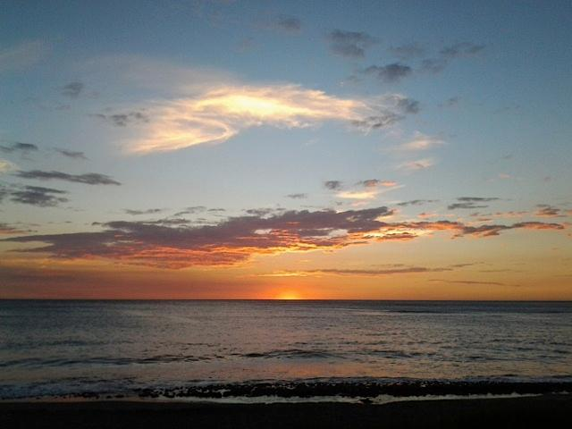 Sunset - PRIVATE OCEANFRONT BEACH CABIN - Marbella - rentals