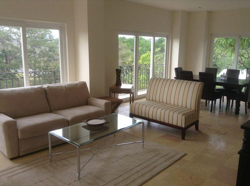 Living Room - Great Beach Front Location! - Acqua #501 - Jaco - rentals