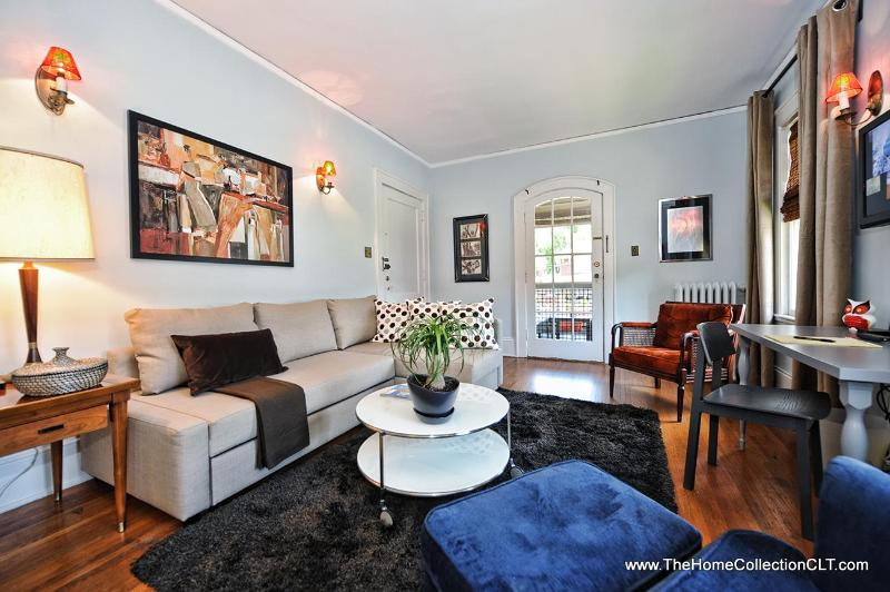Large 1br, Walk to Streetcar, Gigapower wifi - Image 1 - Charlotte - rentals