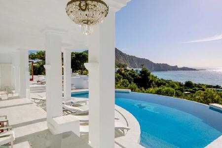 Sensational Villa Rica with a detox sauna, hot tub, sky lounge and staff - Image 1 - Ibiza - rentals
